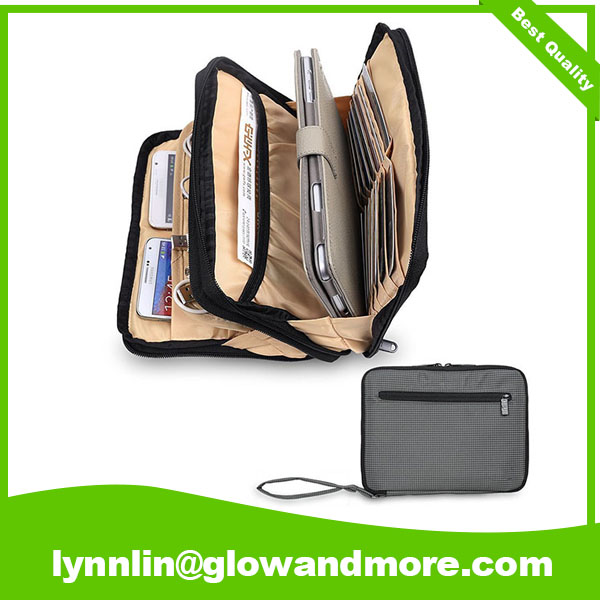 Custom Double Layer Travel Cable Organizer