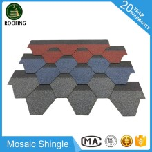 Mosaic architectural roof shingle,tile roof with great price