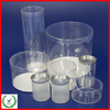 Factory supply clear pvc plastic cylinder /transparent plastic tube