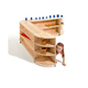 Logo Design Corner Wall Shelf Teak Furniture Parts Kids Classroom Furniture For Toddler