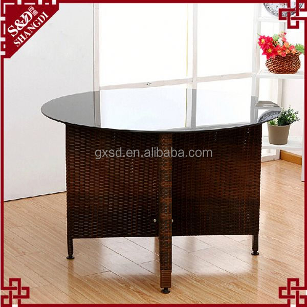 SD practical round shaped antique indian dining room furniture