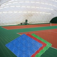 Qingdao Manufactory Best Quality indoor tennis court synthetic flooring