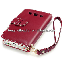 Premium PU Leather Wallet Case for Samsung Galaxy S3 i9300 Red,Cute case for samsung galaxy s3