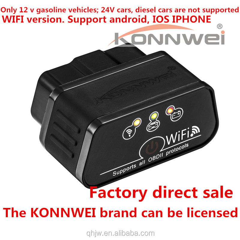 KONNWEI KW 903 WIFI ELM327 OBD2 car fault diagnostic car fault detector