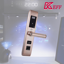 Optical/ semiconductor scanner remote control electronic security fingerprint door lock with APP unlock management