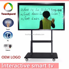 China factory OEM Full HD LED touch screen smart tv