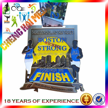 Triathlon class game medal (manufacturer wholesale prices)