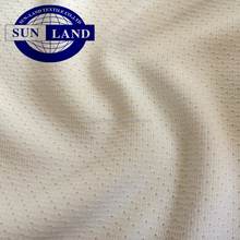 Factory direct sales knitted polyester waterproof twill mesh fabric for fishing garment