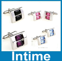 2014 wholesale cheap jewelry fashion crystal cufflinks alibaba china supplier