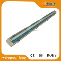 single tube light fluorescent PC/PC waterproof light fixture