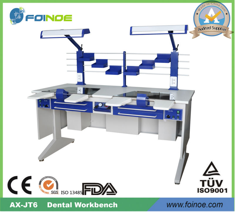 AX-JT6 Double Person Dental Lab Working Bench with CE