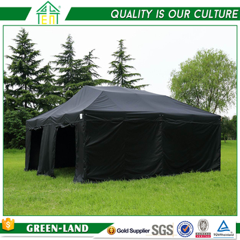 China Manufacturer Offer Folding Marquee Gazebo Aluminium Black Tent