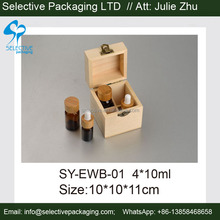 wood box storage boxes essential oil bottle conatiner wooden box