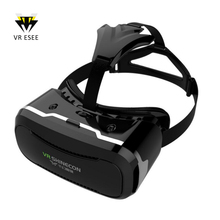 VR Shinecon 2.0 3D Glasses Gafas Brille Mobile Phone Headset With Controller