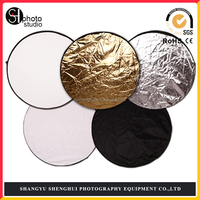 China Round photography 5 in 1 reflector discs photo studio equipment
