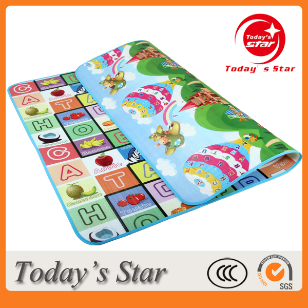 Double Sides Colorful Play Mat For Kids Or Infant Children Outdoor Rest Mat