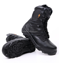 New good quality Breathable Man Dester Gen Leather police tactical boots