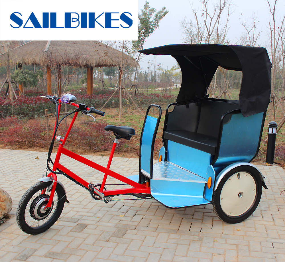 Tricycle Rickshaw/ Bike Taxis/ Pedicabs with Pedal Sensor