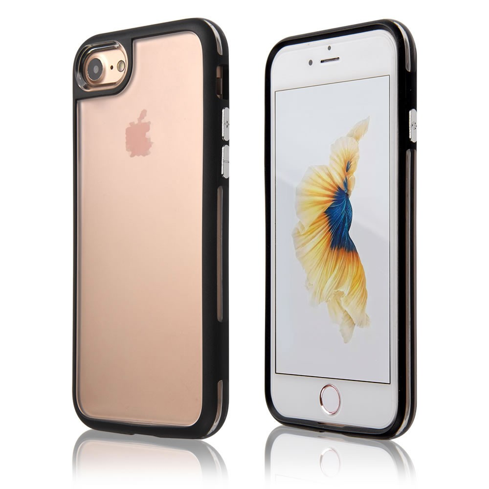 C&T TPU Bumper Soft Case Cover For iPhone 7, Interchangeable Back Plate For iPhone 7 Case Cover