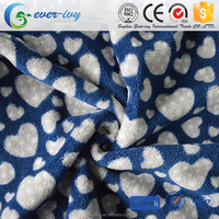 china material coral fleece brush custom coral fleece fabric for blankets