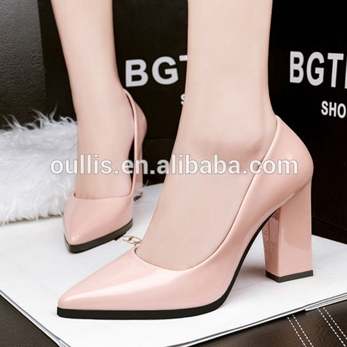 Mega March Sourcing PU shoes high quality office shoes newest designs PJS4367