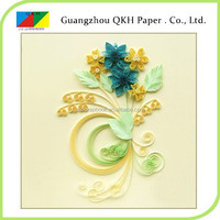 Hand made craft art led lighting handmade paper quilling greeting cards manufacturer