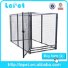 2016 new wholesale large outdoor iron fence dog kennel and runs
