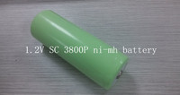 1.2V SC38000P NIMH battery high capacity & temperature cell for power tool