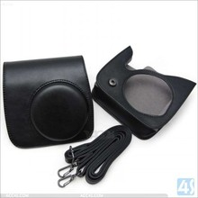 PU leather camera Bag For fujifilm instax mini 8 with strap---P-OTHMINI8PUCA001