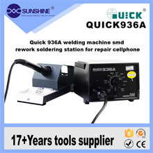 High Quality 60w Portable Antistatic SMD Soldering Station Quick936a