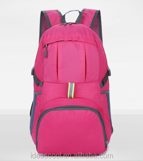 Wholesale Light Weight Portable Nylon Waterproof Packable Foldable <strong>Backpack</strong>