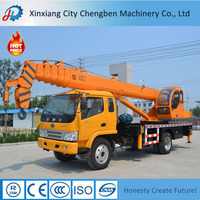 Customized Multifunctional 10 ton Crane Used Truck in UAE