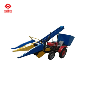 28hp mini 2-row corn combine harvester prices
