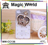 ROYAL CROWN FASHION BLING CELL PHONE CASES MADE IN CHINA