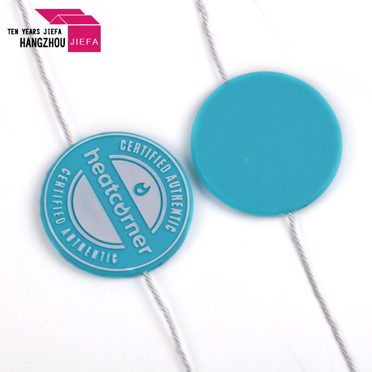 Brand Garment String Plastic Seal Tag for Clothing