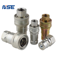 ISO-B Hydraulic Hose Quick Disconnect Couplers Plug ISO 7241-1 B quick connect couplings