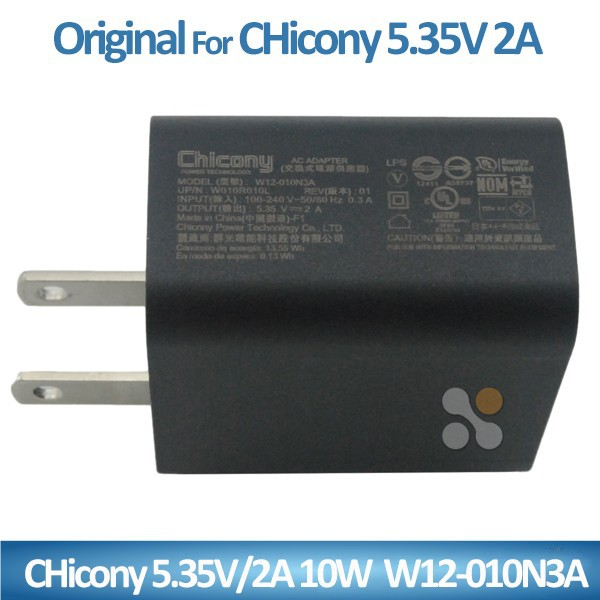 Notebook AC Adapter / Power Supply /Charger Laptop for Chicony 5.35v 2A 10W