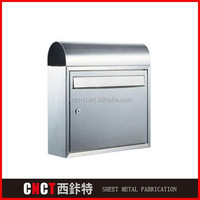 indoor rustproof steel custom mailboxes