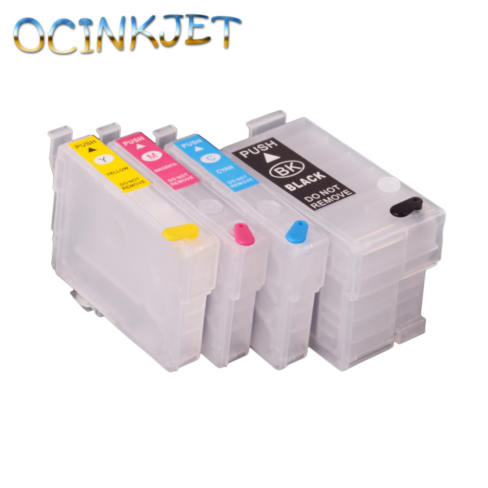 Ocinkjet Empty Refillable Ink Cartridge With Chip For Epson Expression Home XP 30 <strong>102</strong> 202 205 302 305 402 405 215