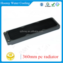 360mm 35mm thickness Lowest noise RoHS high quality copper computer cpu cooler master