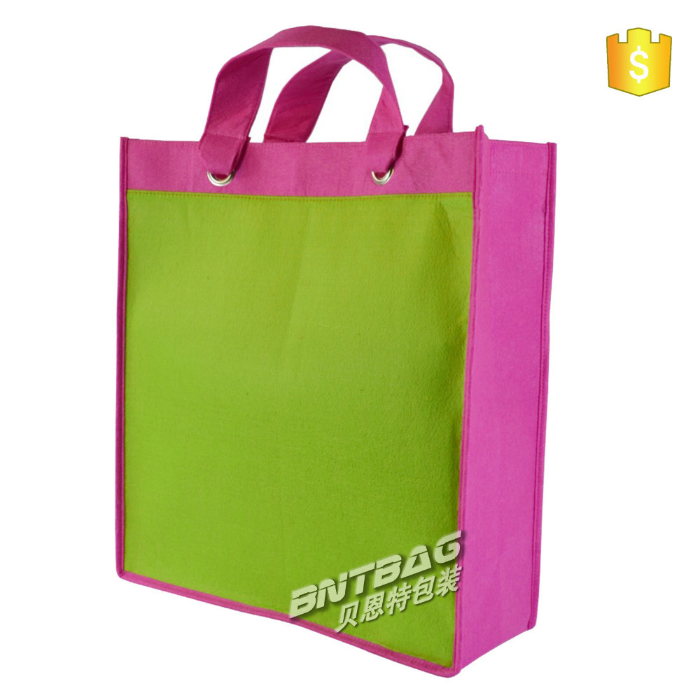 shopping bag folding nylon bag,foldable Non Woven tote Bag,non woven polypropylene tote bag