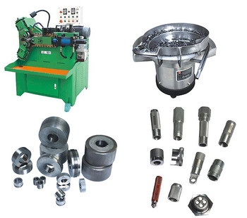 Manual nuts and bolts making machine screw thread rolling machine