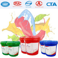 High performance water based finishing coat, excellently smooth water base finish paint for running track