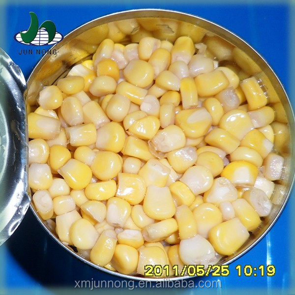 2015 Chinese canned food thailand canned sweet corn