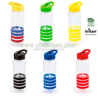 Hot Sell Promotion 450ml Tea Strainer Plastic Water Bottle With Straw