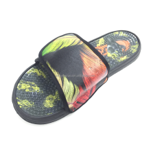 fashion style eva beach walk slipper custom slippers for men
