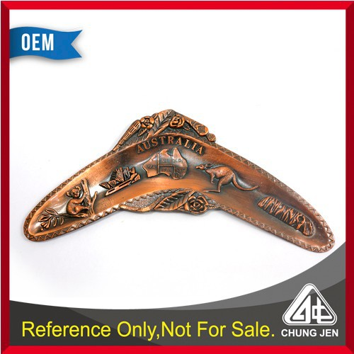 Customized gift boomerang shape Australia attractions souvenirs