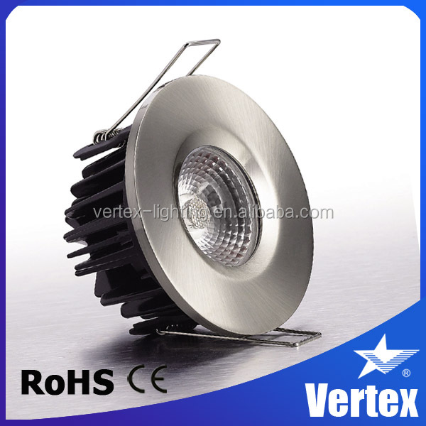 jewellery showroom ceiling design Patent product Ra>80 fire rated ip65 240v led downlights