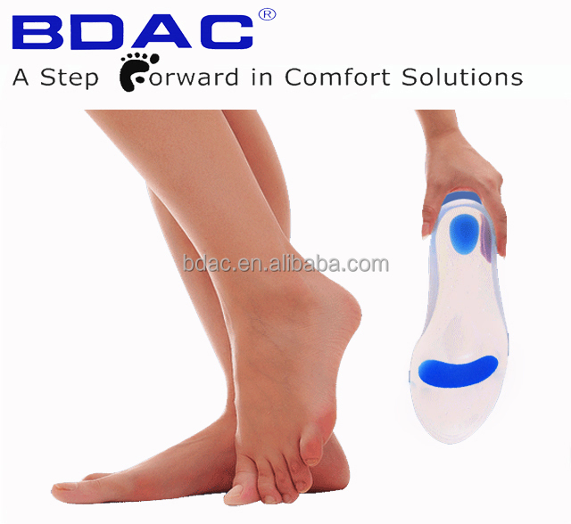 silicone gel insoles metatarsal pad massage insoles