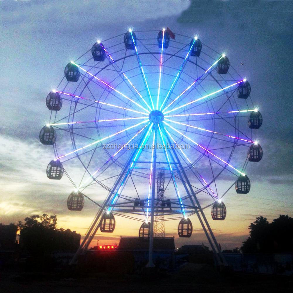Thrill Park Ride!Changda giant rides ferris wheel,giant rides ferris wheel